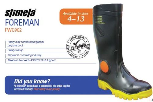 Gumboot Safety toe